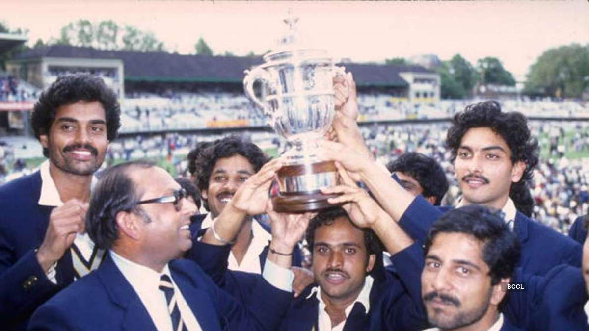 Memorable photos from India's 1983 Cricket World Cup final