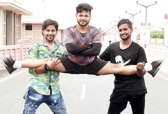 (L-R) Om Singh, SK Mintu and Nishant Maurya (BCCL/ Aditya Yadav)
