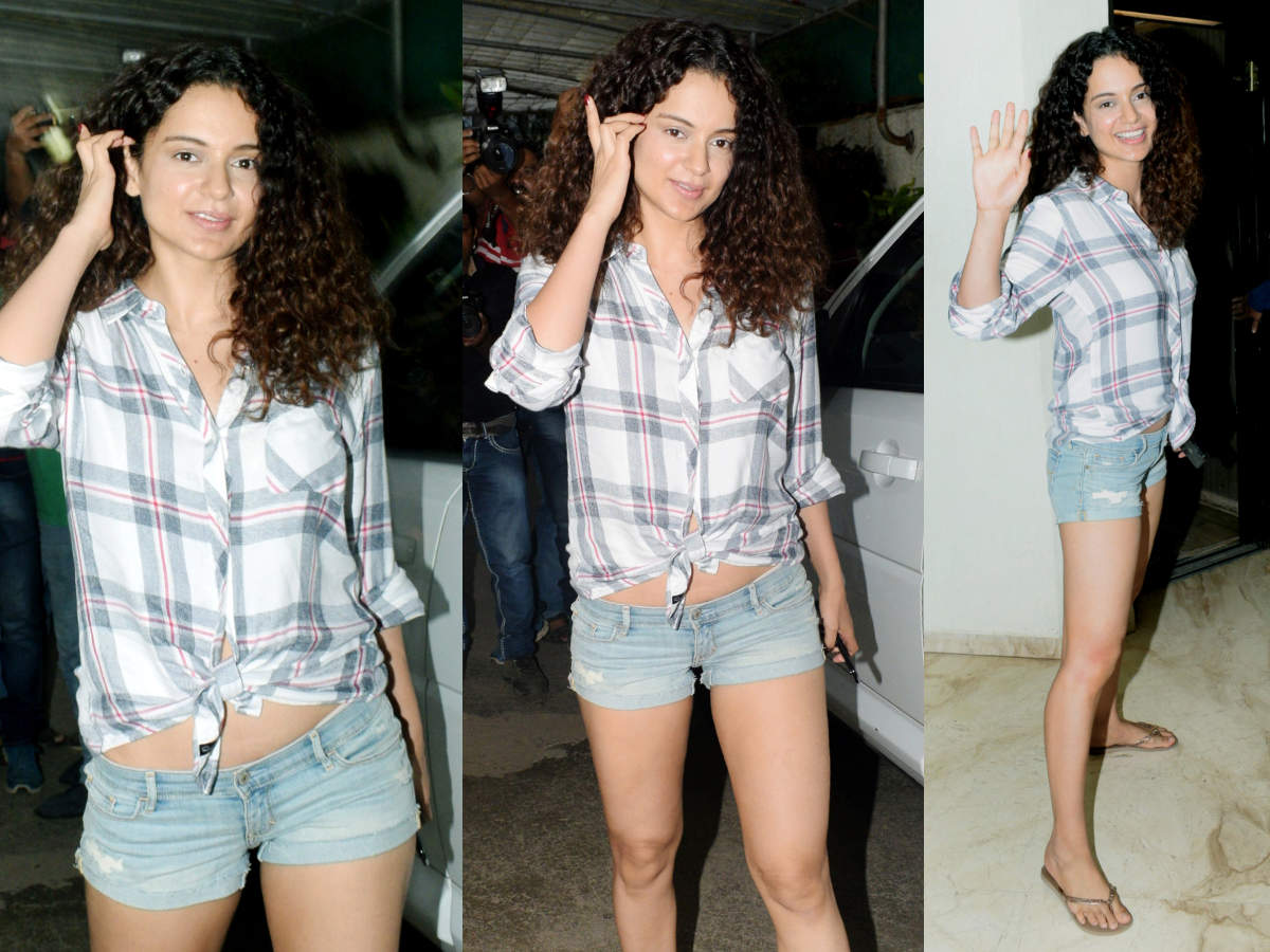 Kangana Ranaut's hot shorts