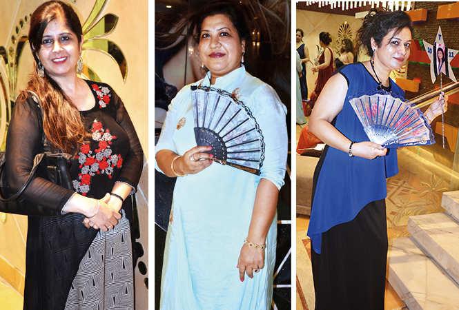 (L) Meetu Bagga (C) Neelam Agarwal (R) Sangeeta Agarwal (BCCL/ IB Singh)