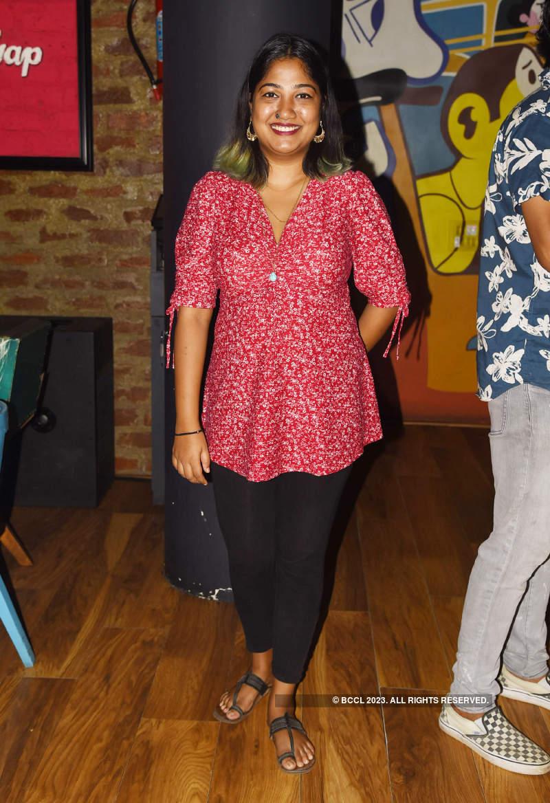 Chennaiites let their hair down at a city pub