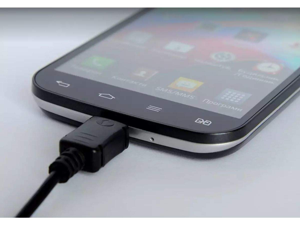 Don't exert external pressure while the device is charging by keeping something over it