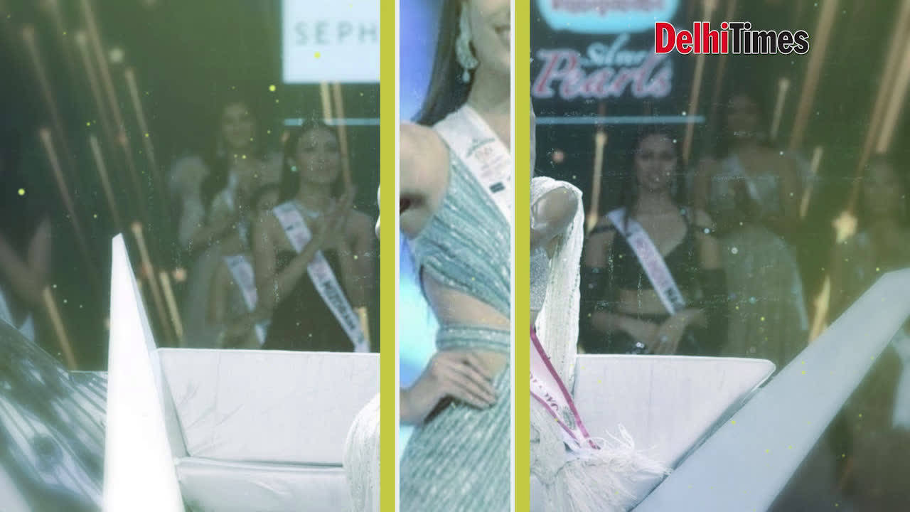 Fbb Colors Femina Miss India World 2019 Suman Rao in Jaipur for her homecoming