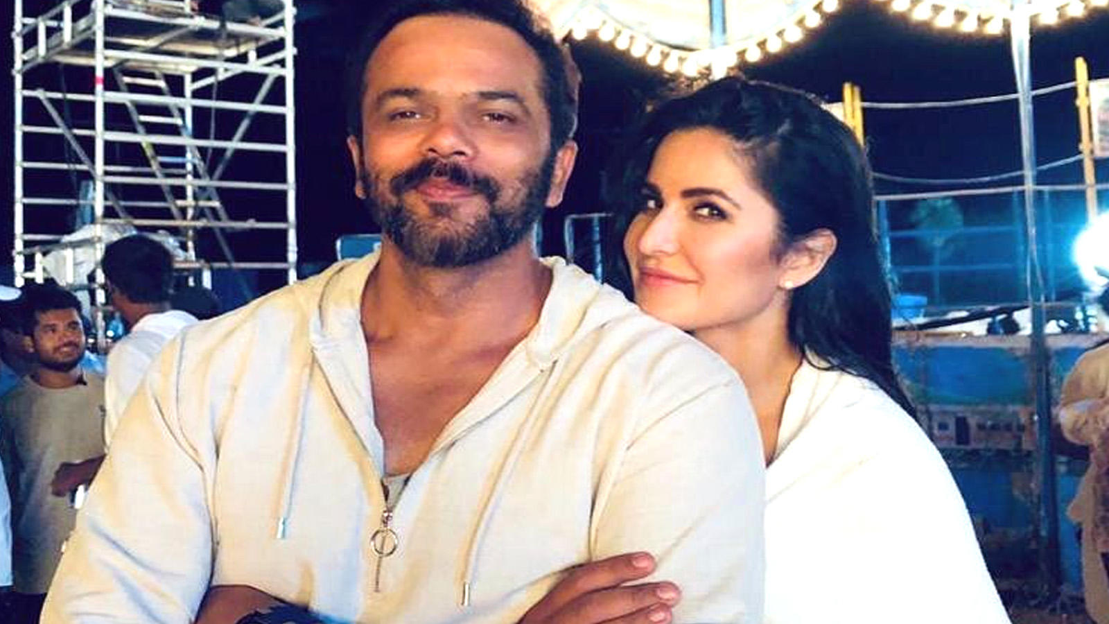 Sooryavanshi: Katrina Kaif shares another 'towel series' pic, this time with Rohit Shetty