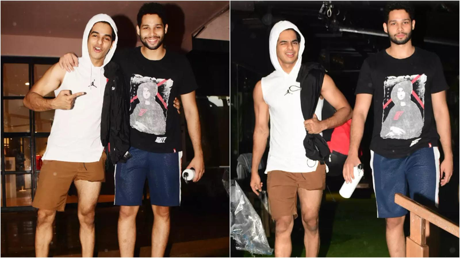 You can't miss Ishaan Khatter's interesting dressing sense