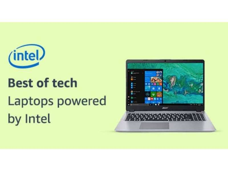Amazon Prime Day sale will offer deals on Intel processor-powered laptops