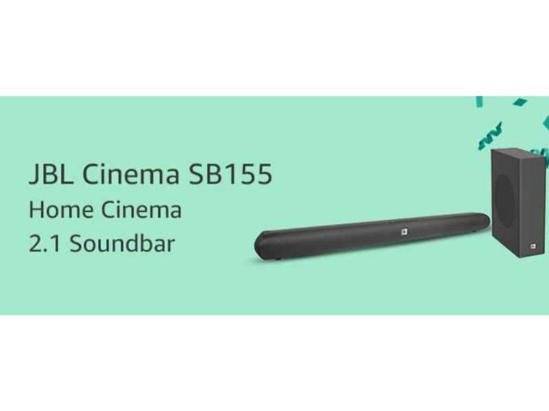 JBL Cinema SB155 Home Cinema 2.1 soundbar to be launched during Amazon Prime Day sale