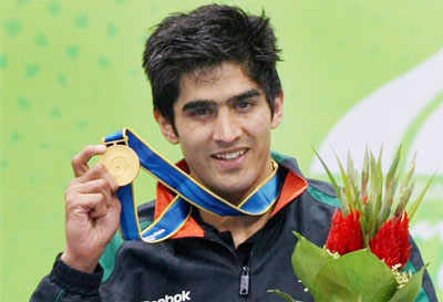 Vijender Singh wins gold in Asian Games