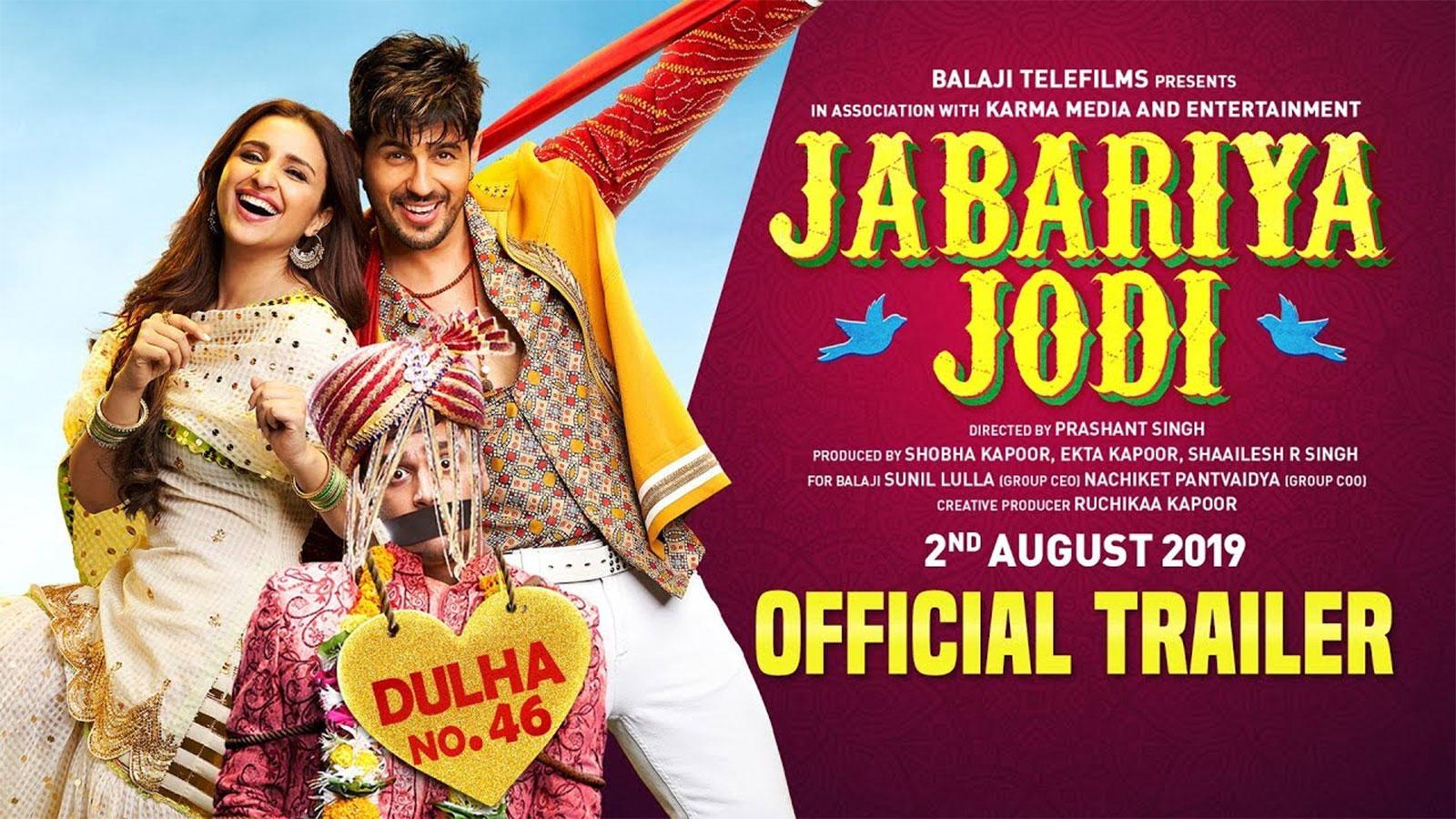 Jabariya Jodi - Official Trailer