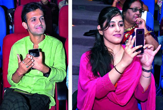 Amrit Sinha (L) and Avanti Walvekar (BCCL/ Vishnu Jaiswal)