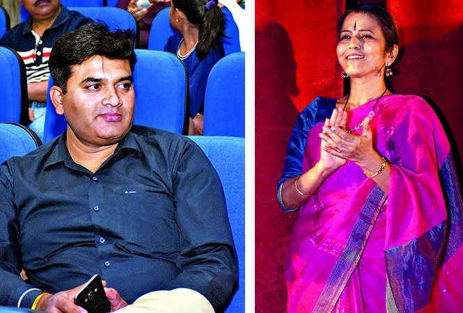 Kaushal Nigam (L) and Beena Singh (BCCL/ Vishnu Jaiswal)