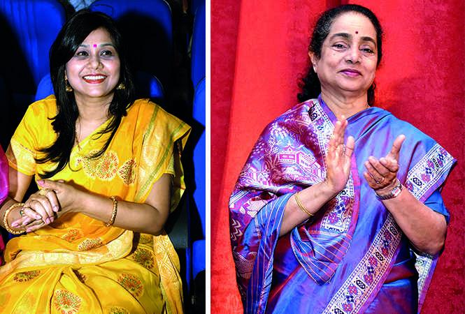 Neeta Srivastava (L) and Shruti Sadolikar Katkar (BCCL/ Vishnu Jaiswal)