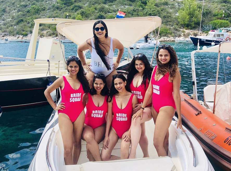 Priya Noronha took off to Croatia with her closest friends for her bachelorette