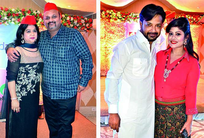 (L) Mamta and Dabbu Mishra (R) Nitin Gupta and Kanchan Gupta (BCCL/ IB Singh)