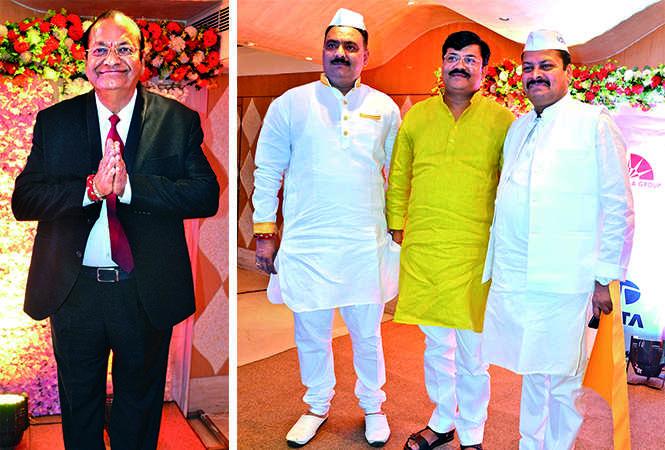 (L) ML Agarwal (R) Raju Dubey, Jai Kumar Singh and Vivek Singh (BCCL/ IB Singh)