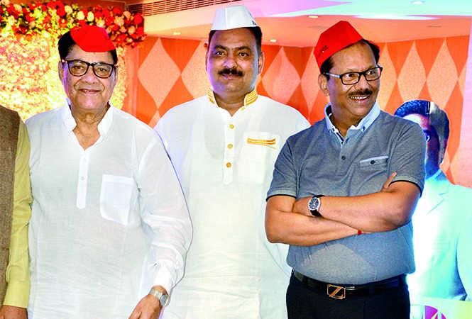 SK Bajaj, Raju Dubey and Ajay Garg (BCCL/ IB Singh)