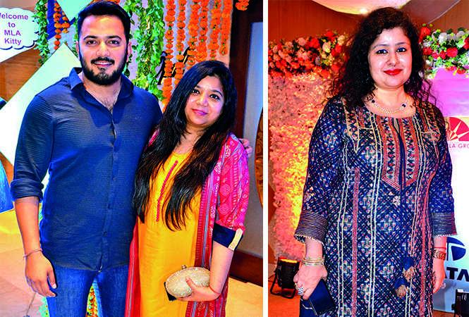 (L) Rishabh Singh and Khushboo Singh (R) Riya Agarwal (BCCL/ IB Singh)