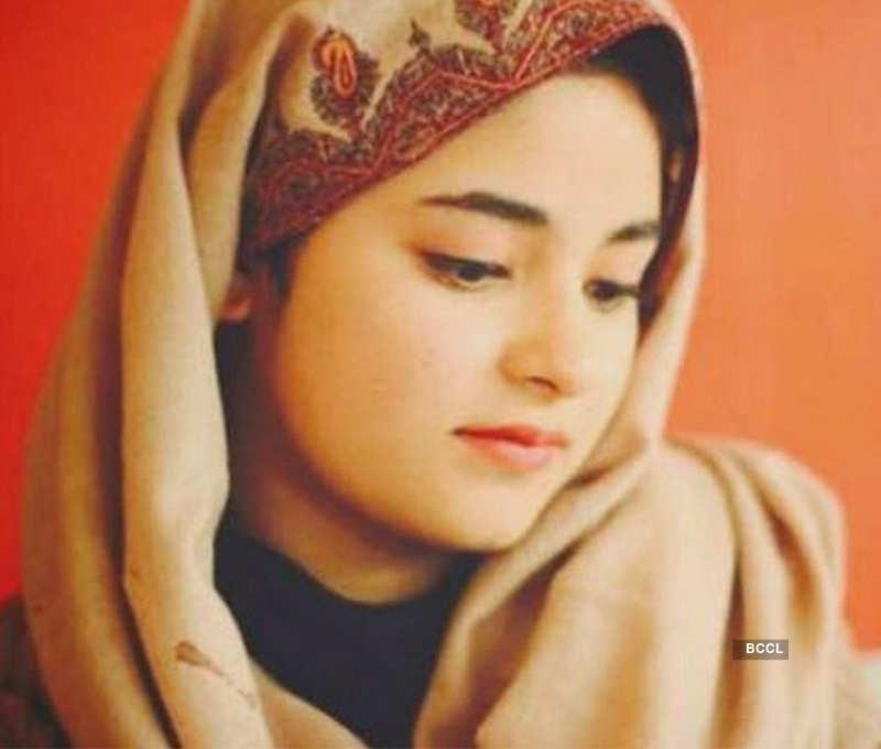 Zaira Wasim quits Bollywood to 'follow faith'