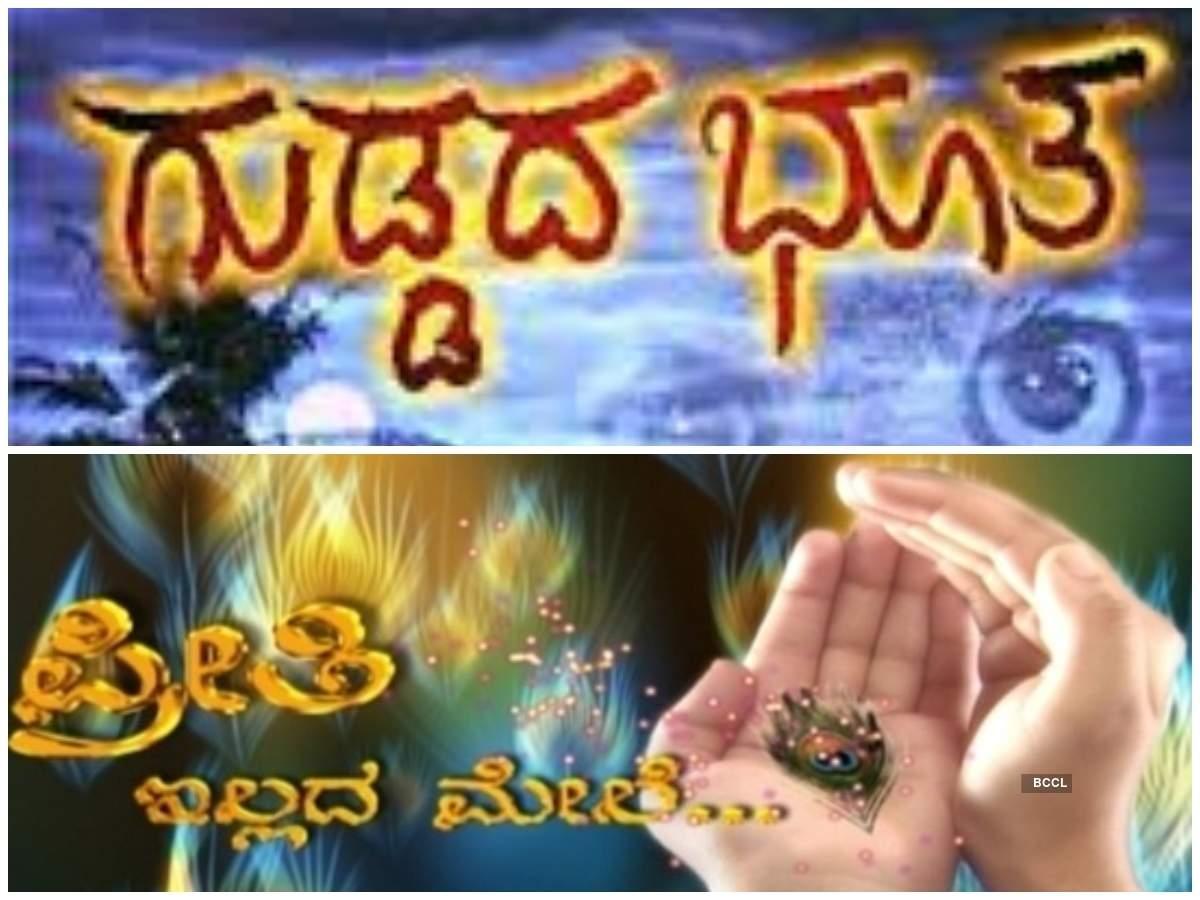From Guddada Bhoota to Preeti Illada Mele: Best Kannada TV
