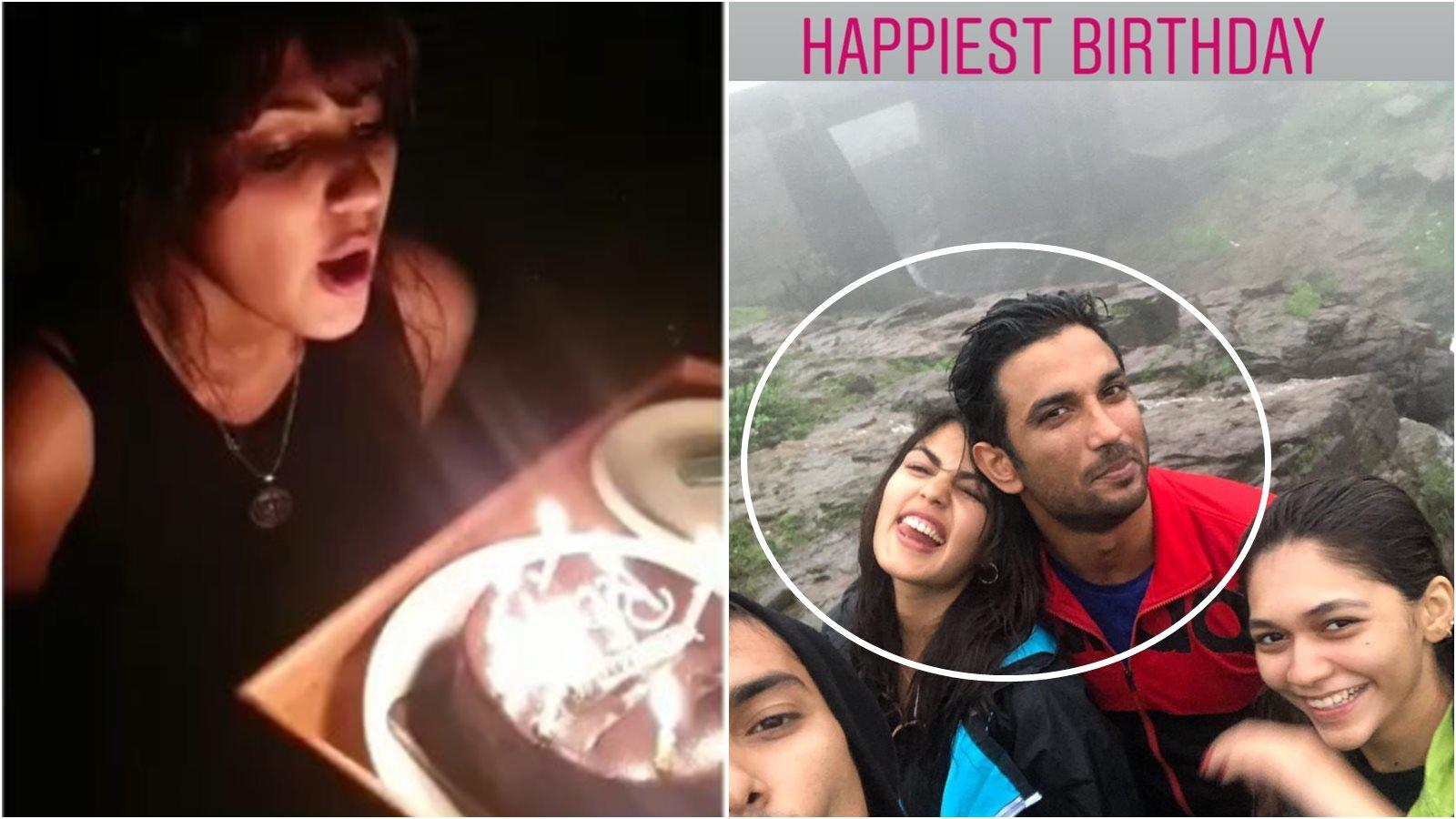 What's cooking between Rhea Chakraborty and Sushant Singh Rajput? Actress spends birthday with 'MS Dhoni' actor