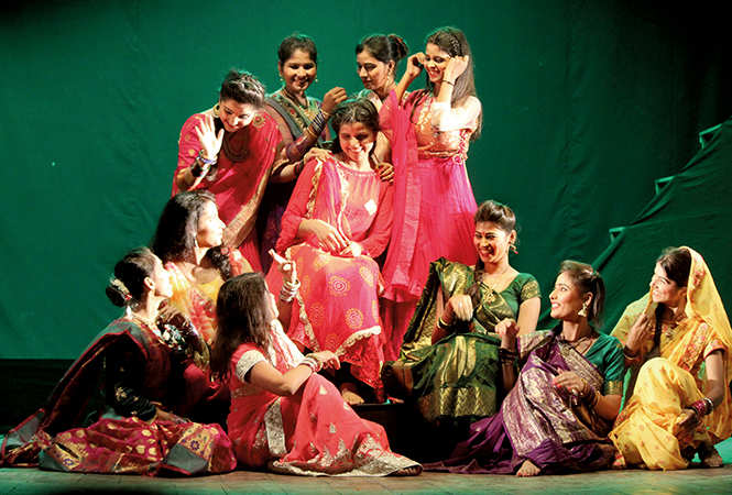 A scene from the play Kailash Mani (BCCL/ Arvind Kumar)