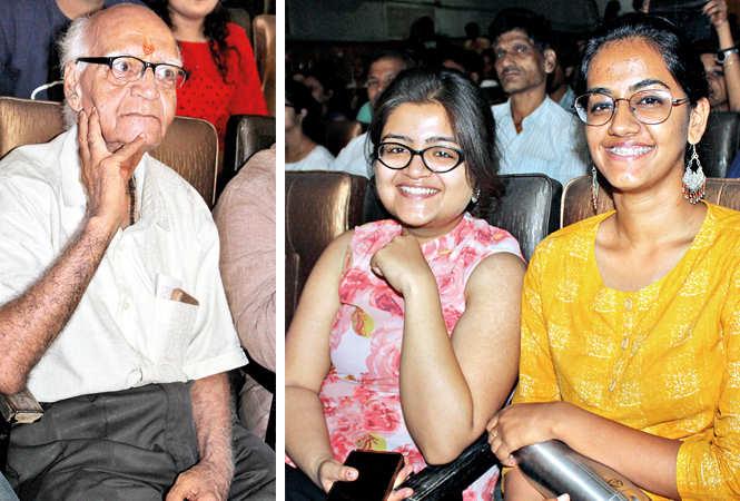 (L) Gopal (R) Saumya and Mahek (BCCL/ Arvind Kumar)