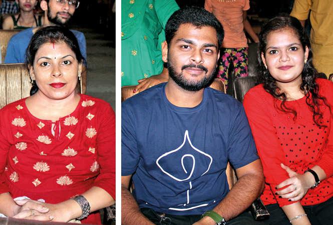 (L) Nishima (R) Yash Raj and Tanishka (BCCL/ Arvind Kumar)