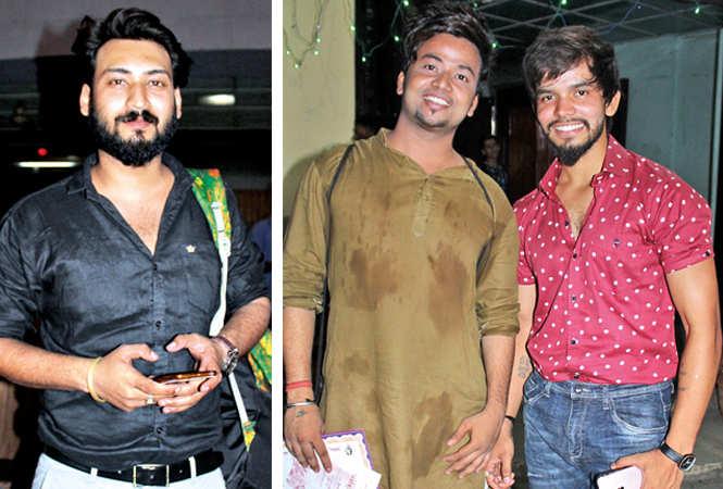 (L) Sumit (R) Ashmit and Sachin  (BCCL/ Arvind Kumar)