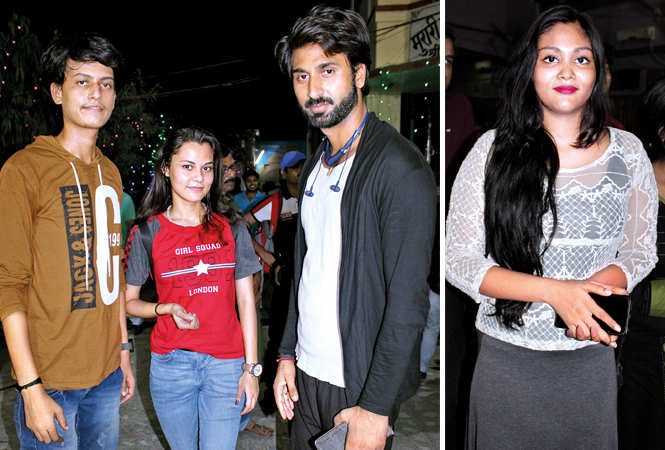 (L) Suyash, Kashish and Rudra Singh (R) Tanya (BCCL/ Arvind Kumar)