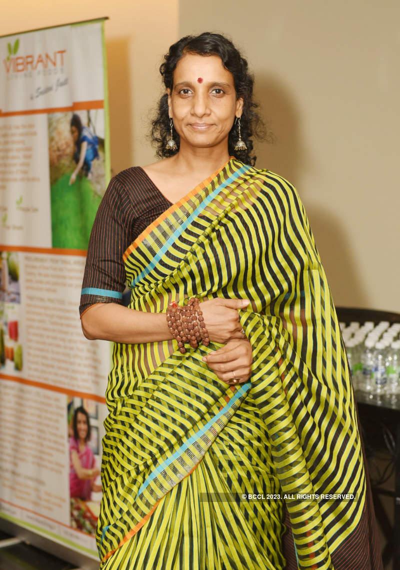 Sridevi Jasti attends Samanvay's installation ceremony