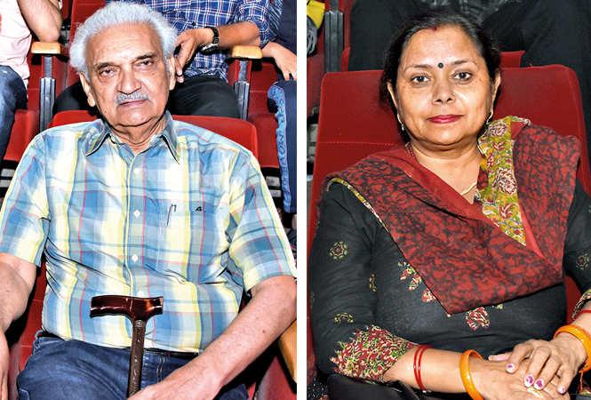 (L) Dr Anil Rastogi (R) Madhvi Srivastava (BCCL/ Farhan Ahmad Siddiqui)