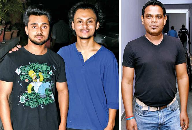 (L) Prateek and Faisal (R) Sukumar Tudu (BCCL/ Farhan Ahmad Siddiqui)