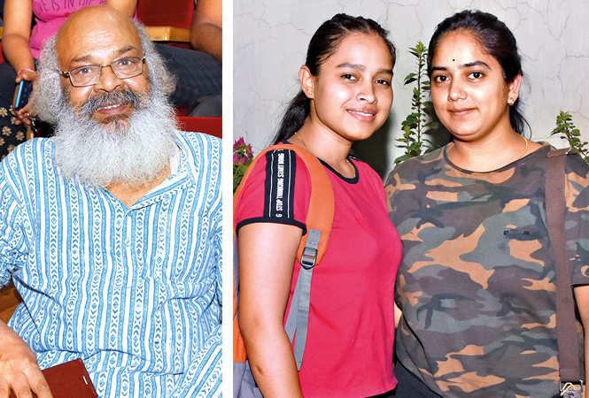 (L) Surya Mohan Kulshreshtha (R) Swati Rawat and Kavita Srivastava (BCCL/ Farhan Ahmad Siddiqui)