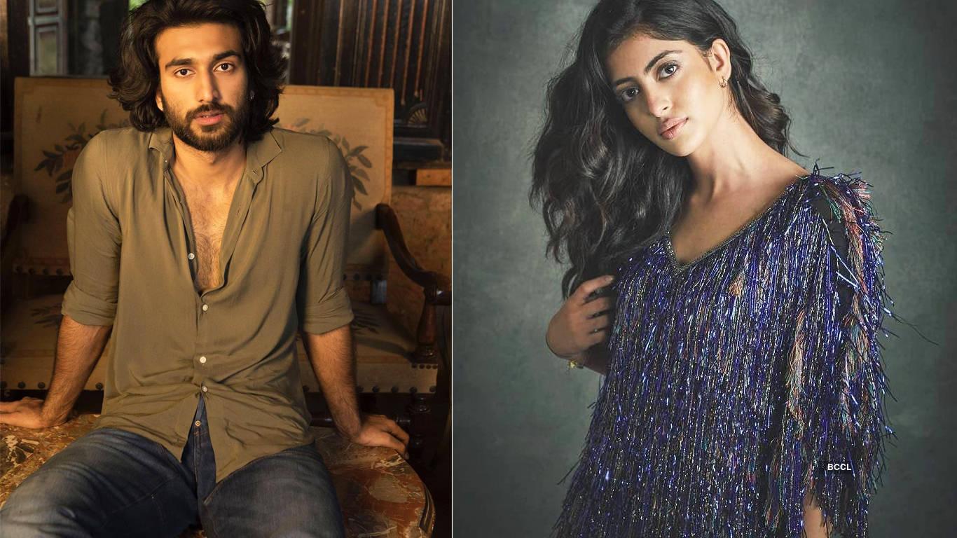 Is Big B's granddaughter Navya dating Javed Jaffrey's son Meezaan?