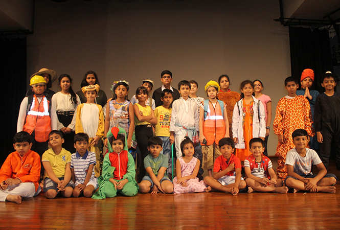 A scene from the play Van Hai Toh Hum Hai (BCCL)