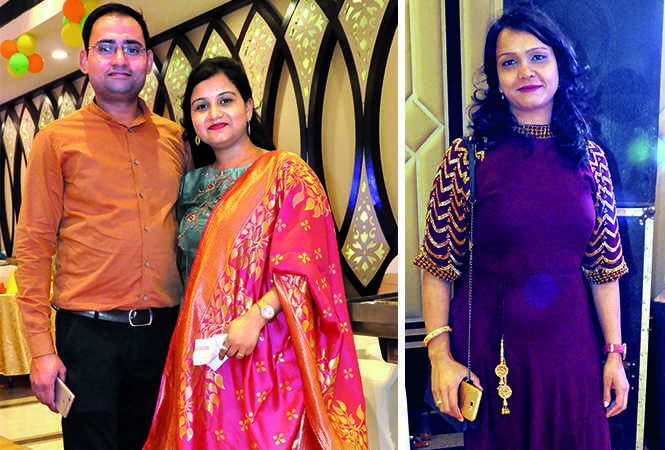 (L) Jitendra and Sadhana Sharma (R) Pooja Pandey (BCCL/ AS Rathor)