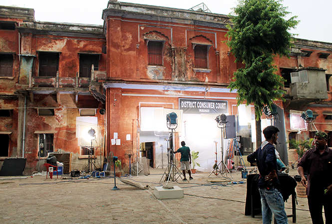 Shoot location in Varanasi (BCCL/ Arvind Kumar)​