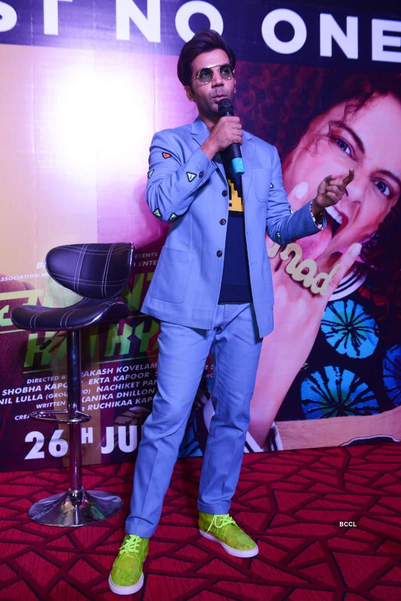 Judgemental Hai Kya: Trailer launch