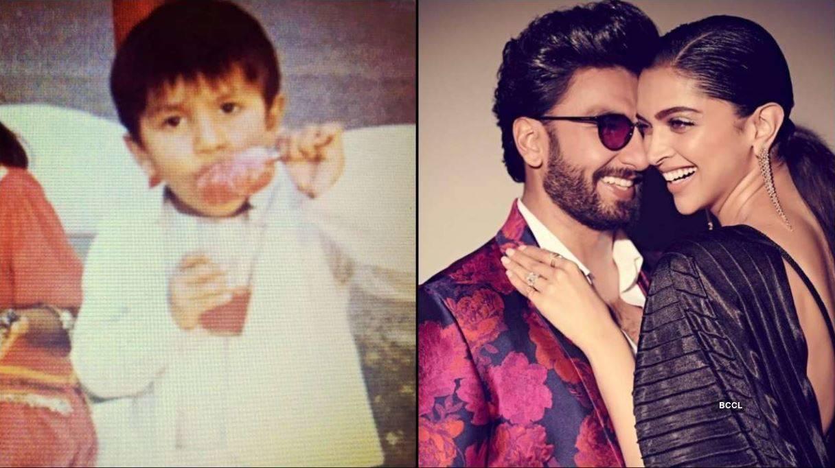 Deepika Padukone shares Ranveer Singh's childhood photo on his birthday