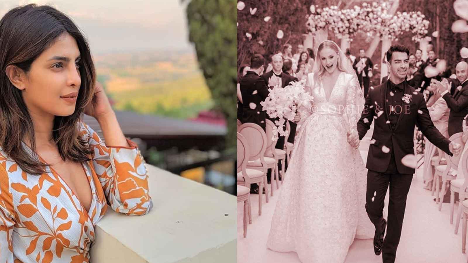 Priyanka Chopra congratulates brother-in-law Joe Jonas and his wife Sophie Turner on wedding