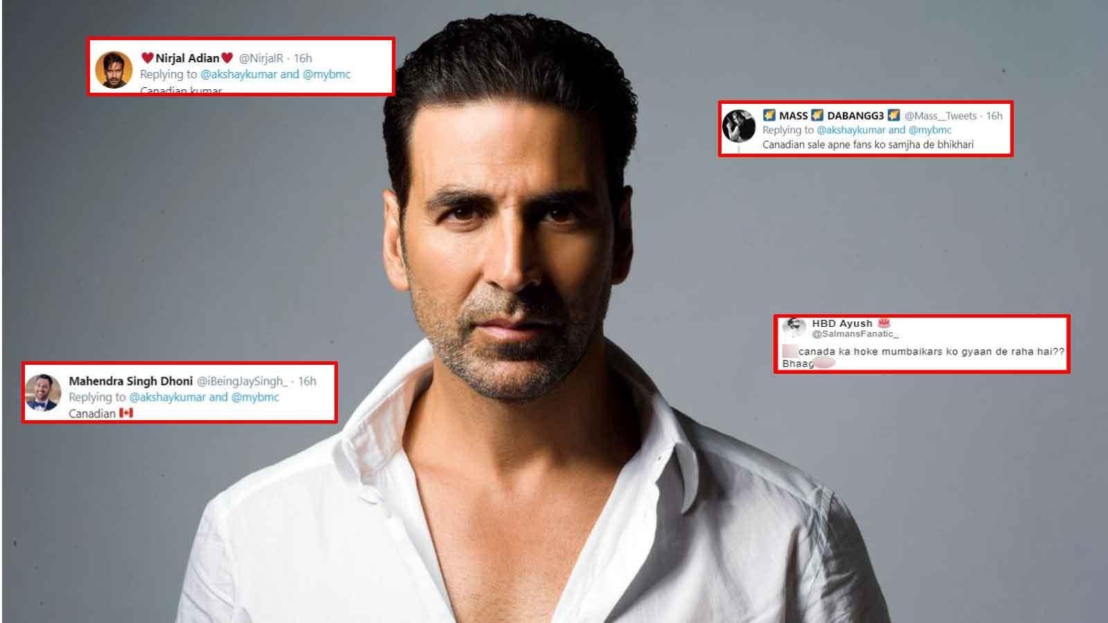 Akshay Kumar gets trolled mercilessly for his tweet on BMC