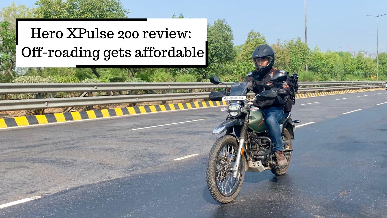 Hero XPulse 200 road test review