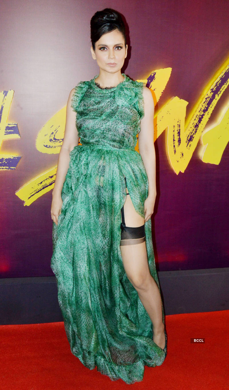 Judgemental Hai Kya: Song launch