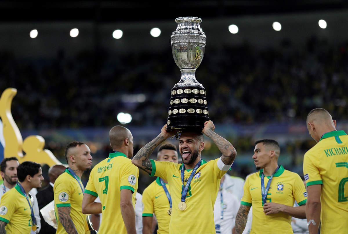 Brazil beat Peru 3-1 to win Copa America title