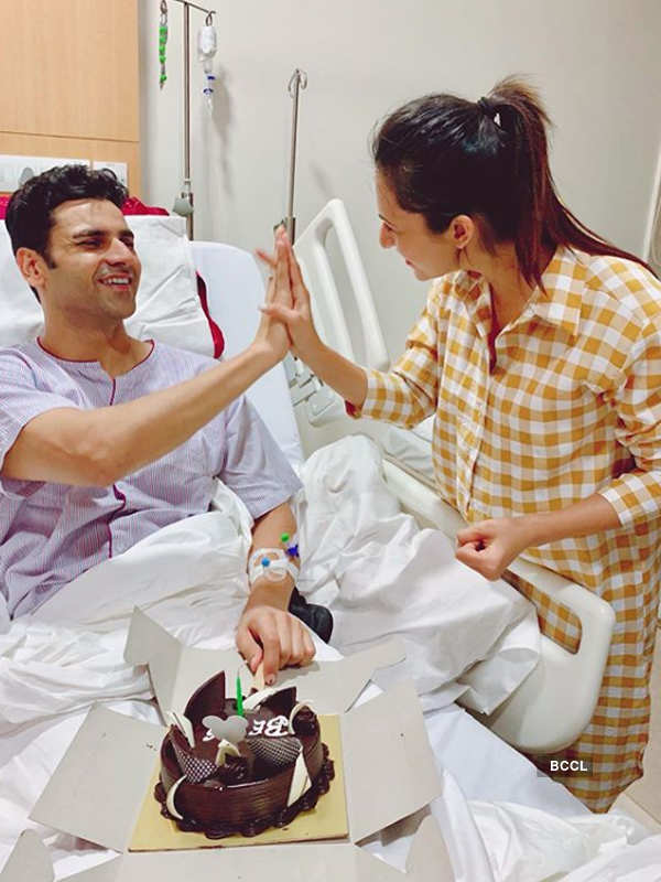 Divyanka Tripathi and Vivek Dahiya celebrate wedding anniversary at a hospital
