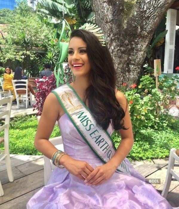 María Regina Barco Sandoval crowned Miss Earth Guatemala 2019