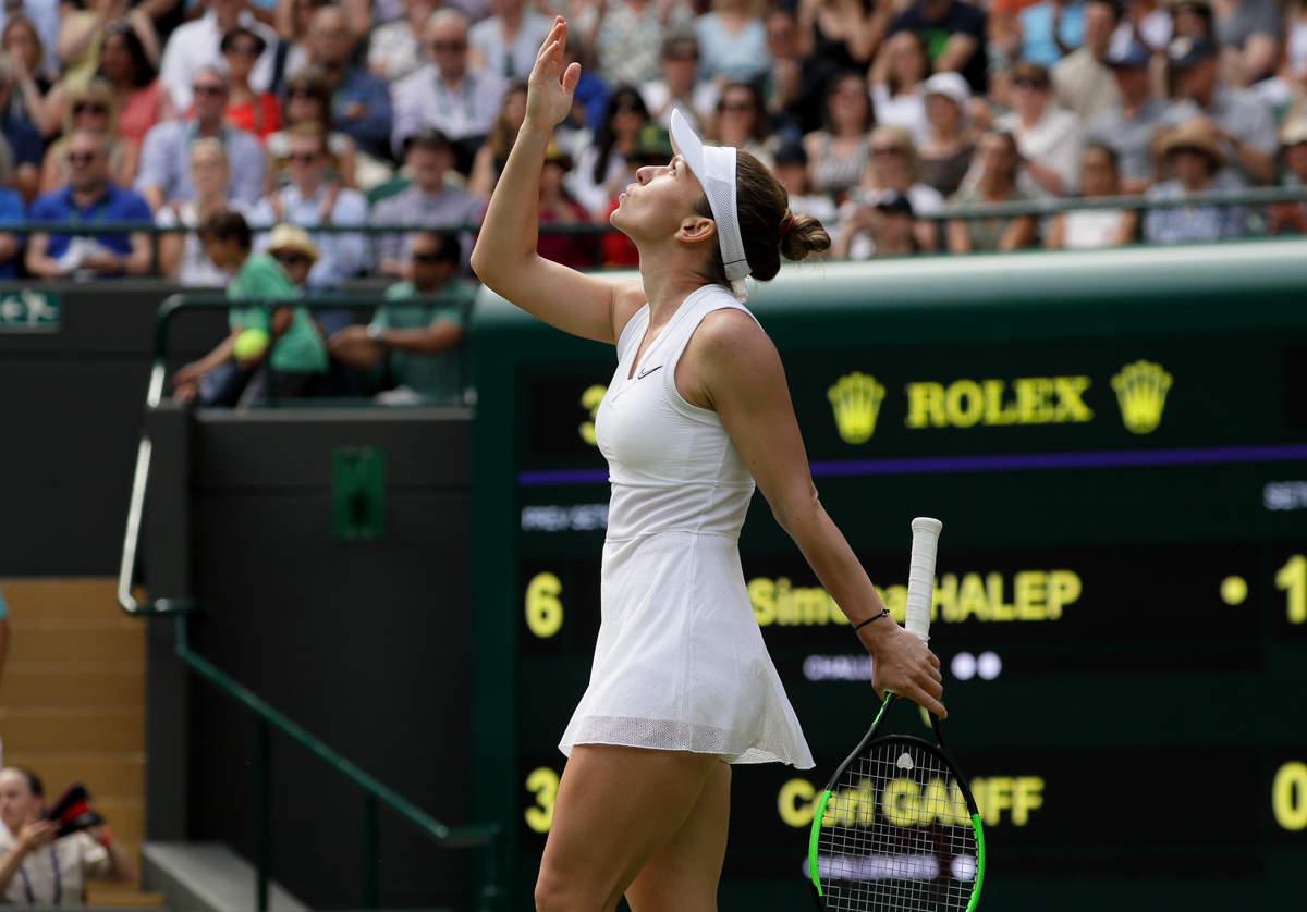 Tennis sensation Cori Gauff loses to Simona Halep
