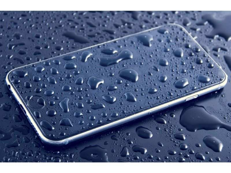 Do not shake the phone unnecessarily to remove water. This might cause water to further get inside the circuit