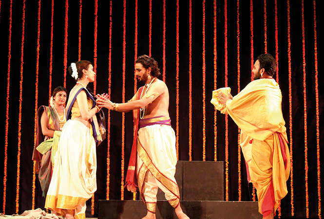 A scene from  Svapnavasavadattam (BCCL/ Arvind Kumar)
