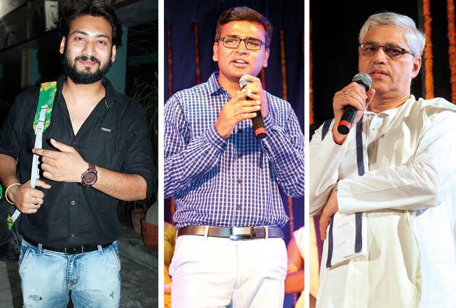 Sumit, Surendra Singh and Vijay Sankar  (BCCL/ Arvind Kumar)